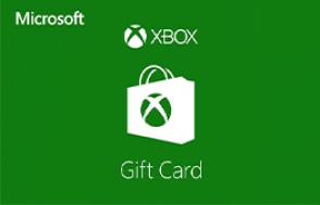 Microsoft Xbox Live Gift Card