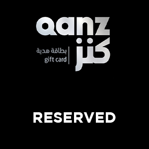 Reserved | Qanz Gift Card