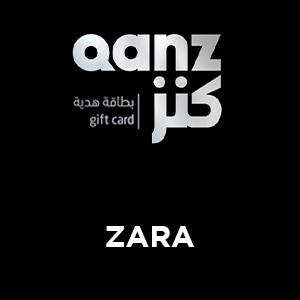 ZARA | Qanz Gift Card