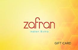 Zafran eGift Card