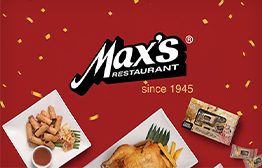 Max's Restaurant eGift Card