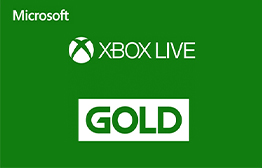 Microsoft Xbox Live Gold  eGift Card