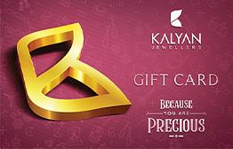 Kalyan Jewellers - Gold Jewellery eGift Card