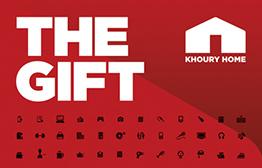 Khoury Home eGift Card
