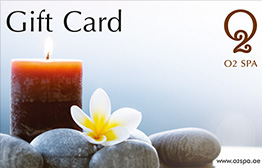 O2 Spa eGift Card