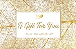 Tao Spa eGift Card