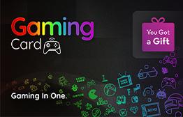 بطاقة الجيمنج من YouGotaGift بطاقة الهدايا الإلكترونية
