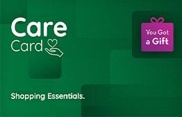 بطاقة الرعاية من YouGotaGift بطاقة الهدايا الإلكترونية