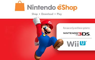 Nintendo eShop (US Account) eGift Card