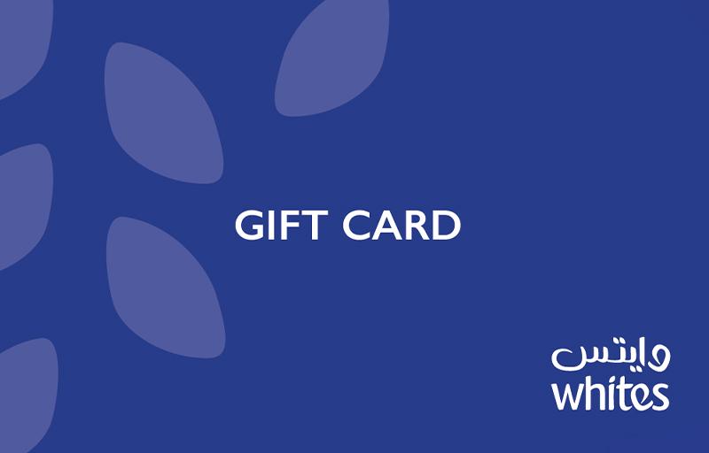 وايتس بطاقة الهدايا الإلكترونية