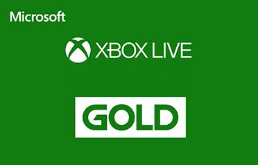 Microsoft Xbox Live Gold eGift Card